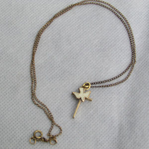 Jewelry - Dove/Cross Necklace with 18 inch chain